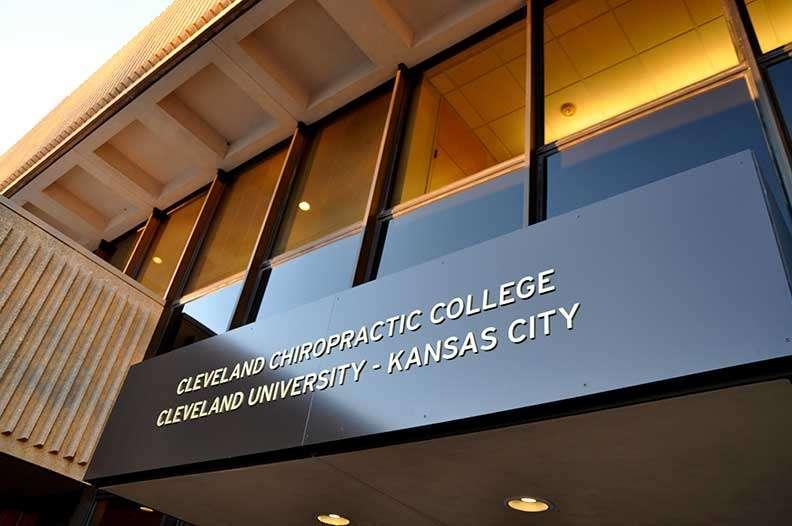 South entrance Cleveland University-Kansas City sign