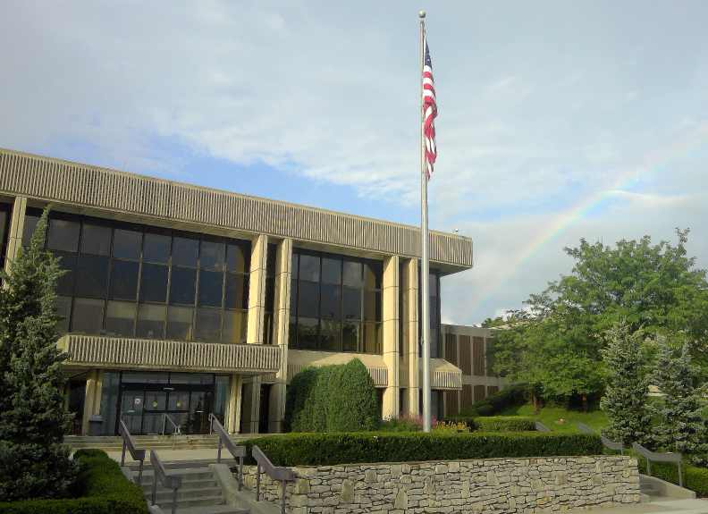 Rainbow over CUKC campus