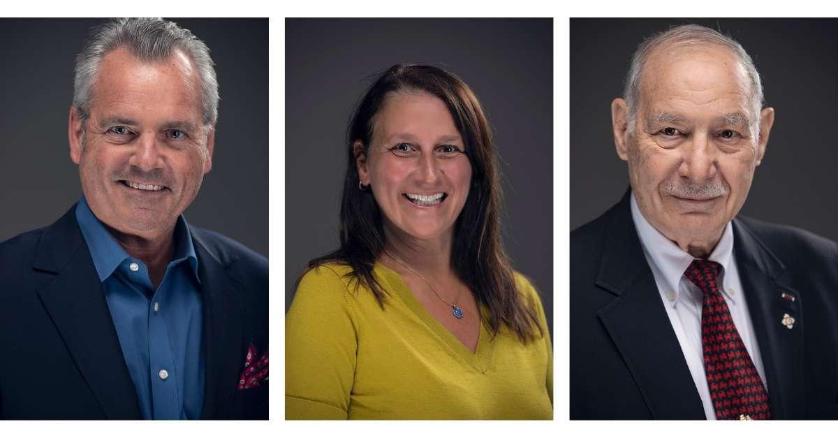 New board of trustees members;