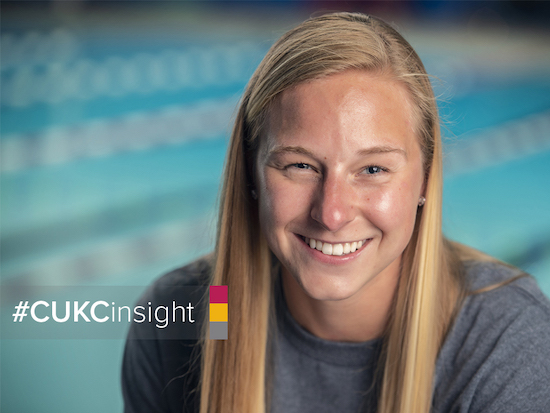 Madison Strathman - Chiropractic student/Olympic swimming qualifier