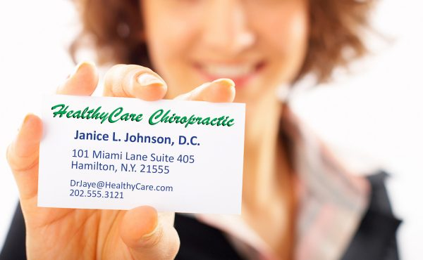 New B-card! Being prepared for chiropractic profession